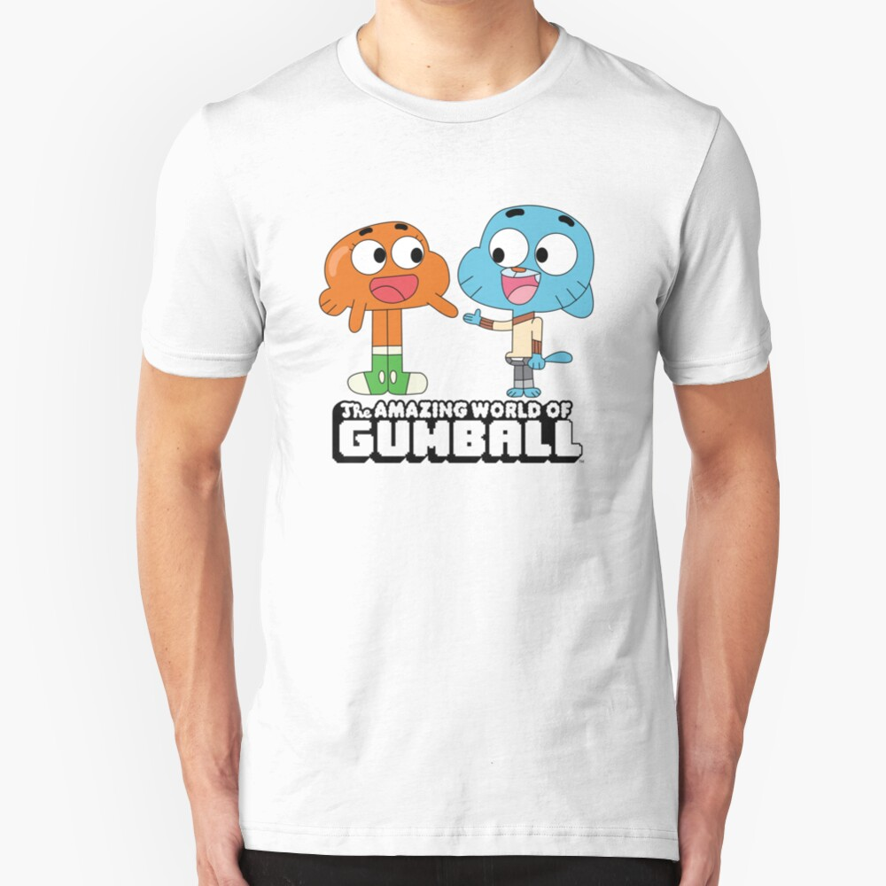 Gumball and Darwin Slim Fit T-Shirt