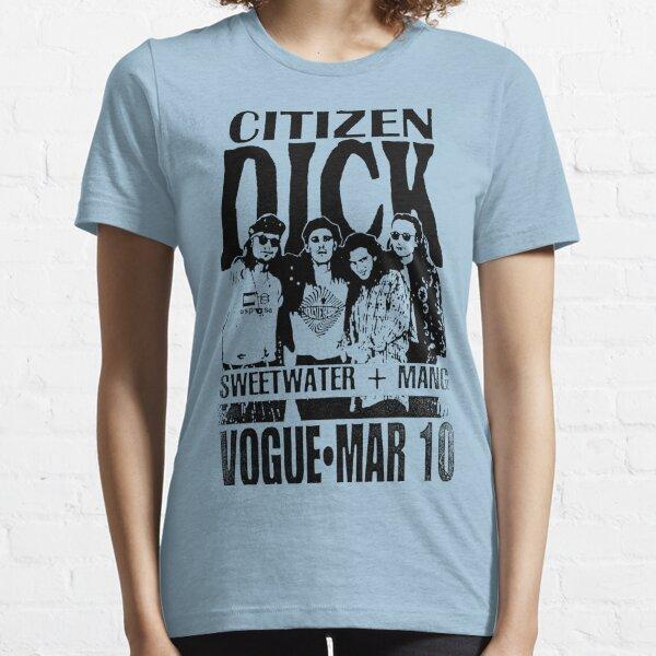 Folleto de concierto de Dick de ciudadano desvaído Camiseta esencial