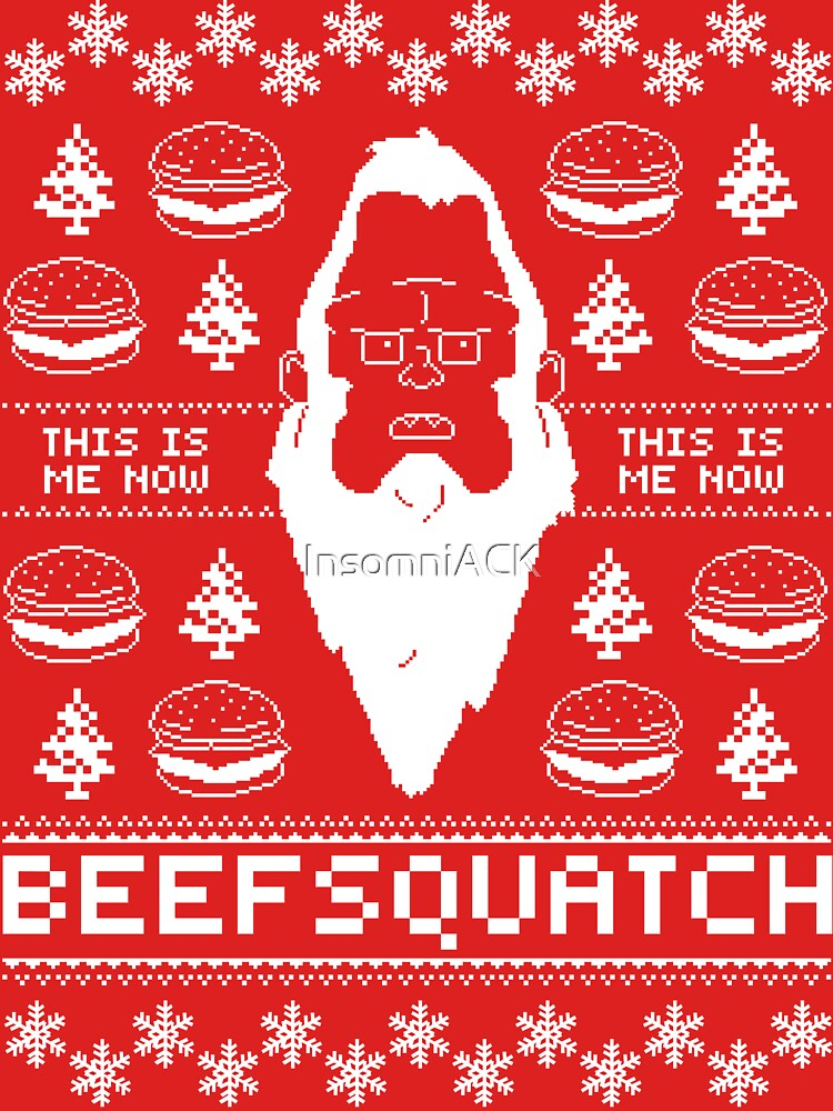 Ugly Holiday - Beefsquatch | Unisex T-Shirt