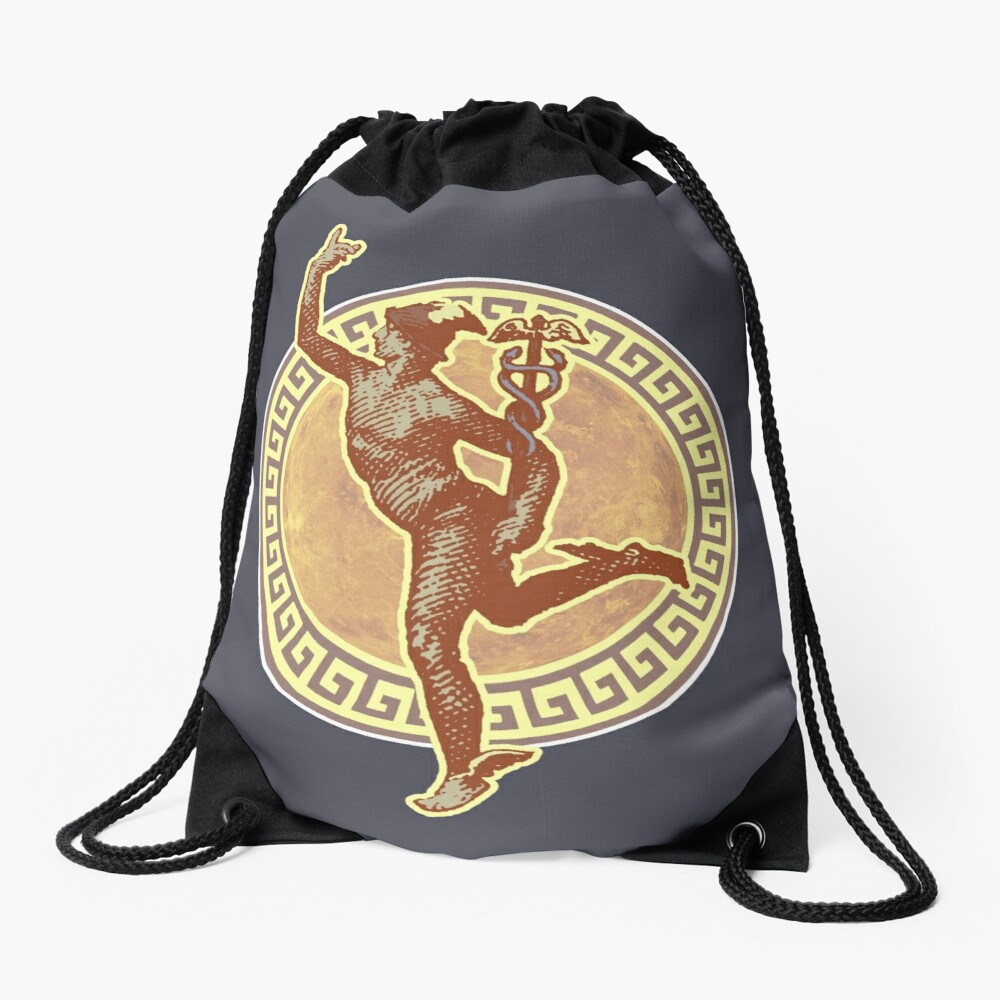 Mercury I - Vintage Variant Drawstring Bag