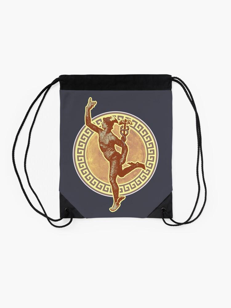 Alternate view of Mercury I - Vintage Variant Drawstring Bag