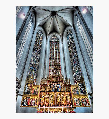 St. James Cathedral, Rothenburg ob der Tauber. Photographic Print