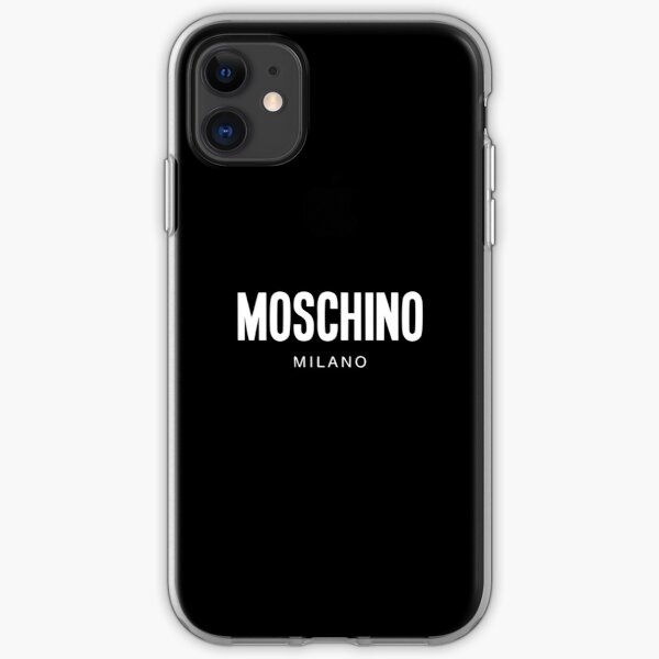 Moschino Milano iPhone Soft Case