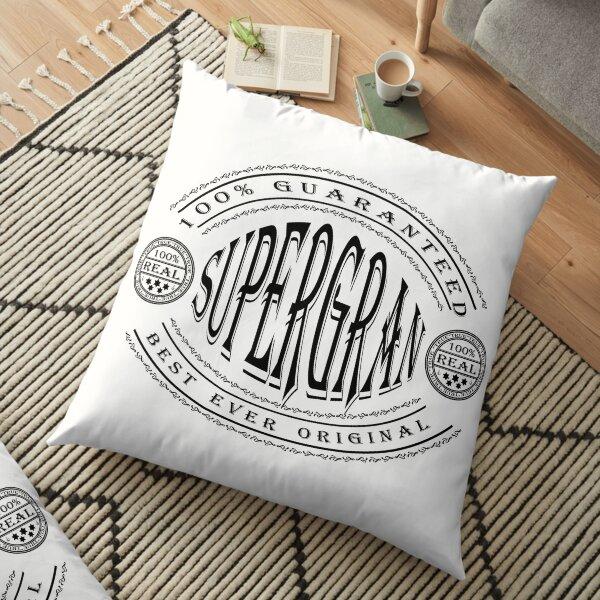 100% Best Ever Supergran Floor Pillow