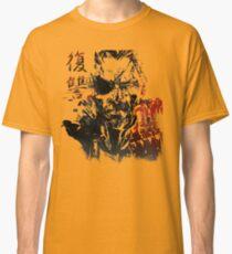 Camiseta clásica MGSV - Todo por la venganza (kanji japonés)