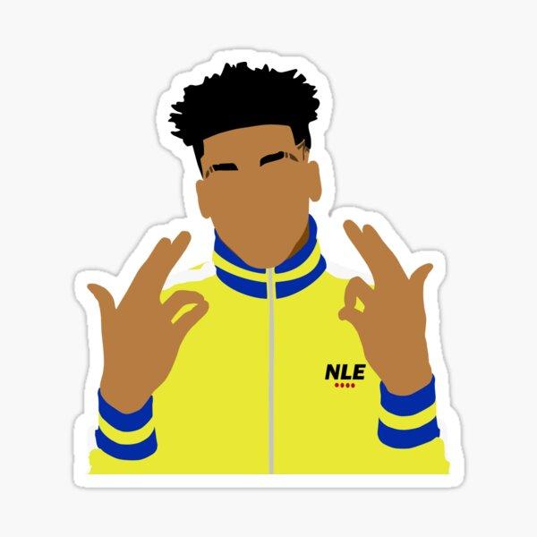NLE Choppa Simplified Sticker