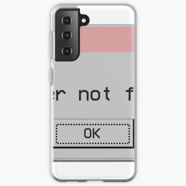 Genderqueer Gender Not Found Nonbinary Samsung Galaxy Soft Case