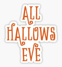 Halloween Gift - All Hallows Eve - Pagan Holiday Present  Sticker