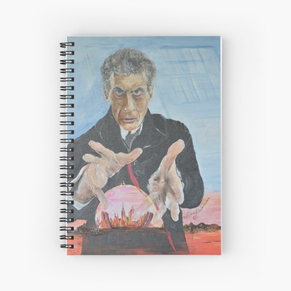 Rebel Time Lord  Spiral Notebook