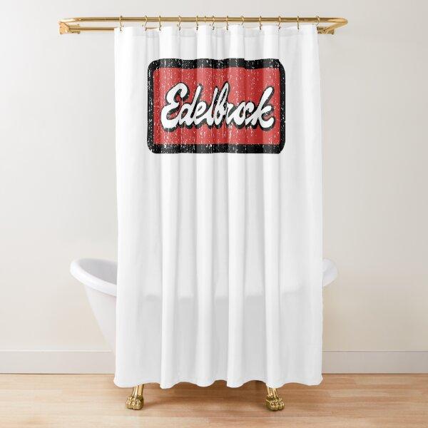 Edelbrock Engines Hot Rod Duschvorhang