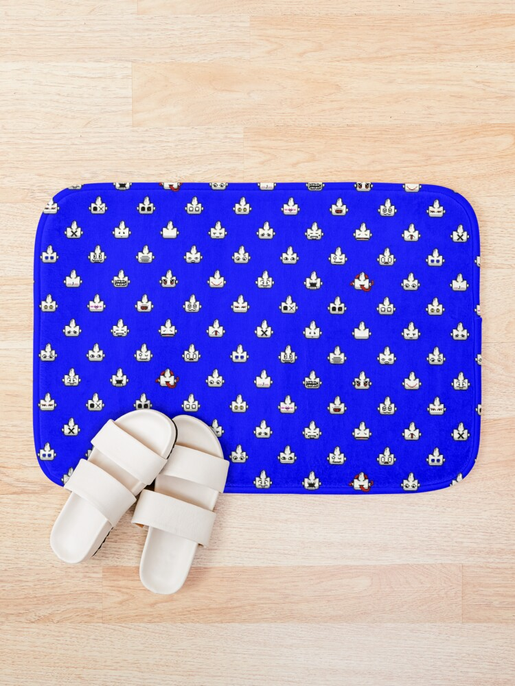 Alternate view of Many heads of Life Bath Mat