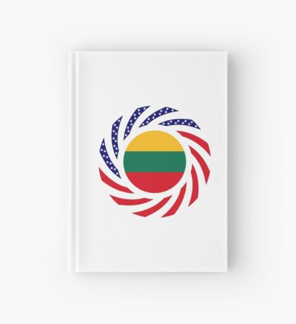 Lithuanian American Multinational Patriot Flag Series Hardcover Journal