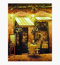 Creperie Restaurant Photographic Print
