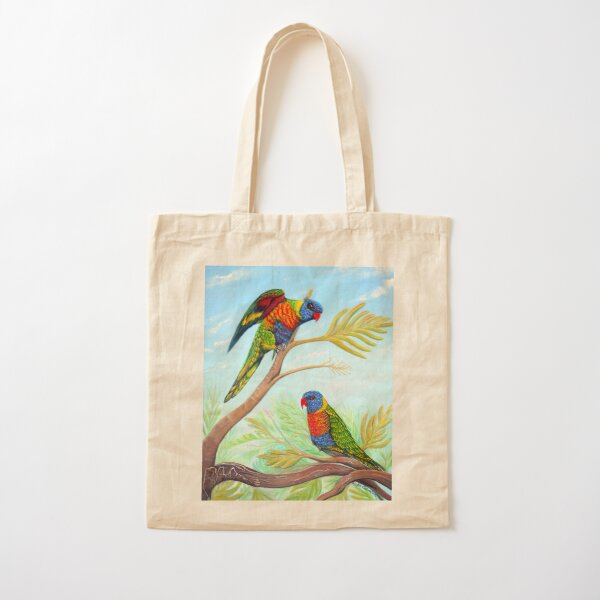 Rainbow Days Cotton Tote Bag