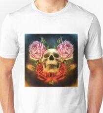 Skull And Rose's  Unisex T-Shirt