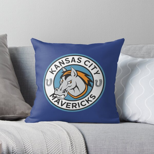 KANSAS CITY MAVERICKS Throw Pillow