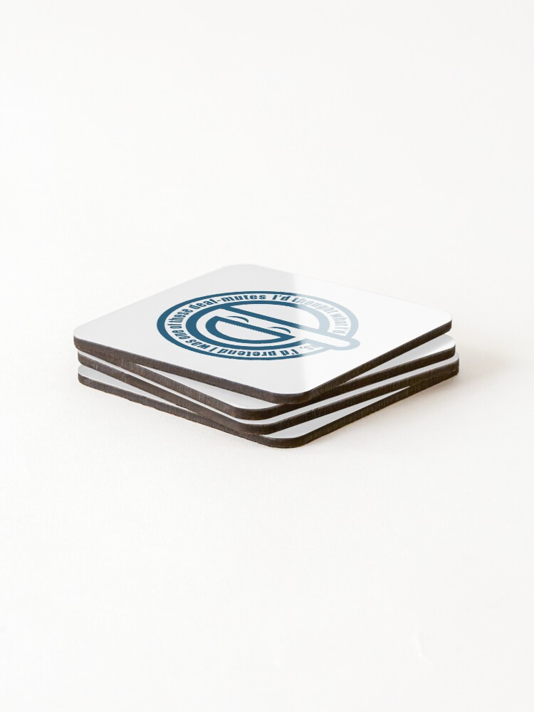 Alternate view of Smile man Coasters (Set of 4)