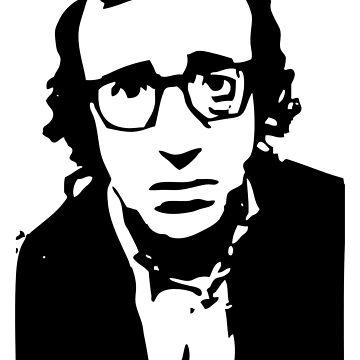 Annie Hall Woody Allen Stencil de astropop