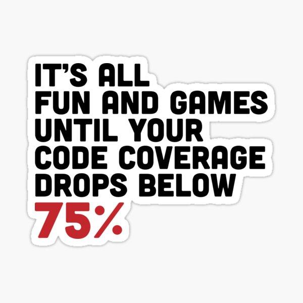 Code Coverage Sticker