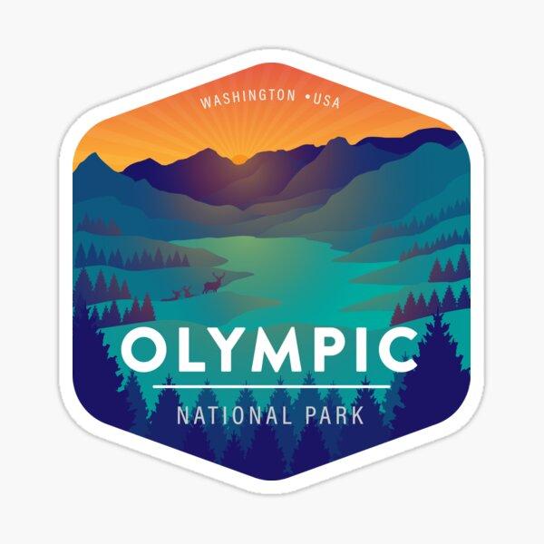 Olympic National Park Washington Badge Sticker