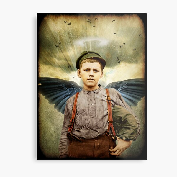 The Boy With The Broken Halo Metal Print