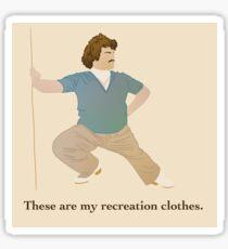 Nacho Libre Recreation Clothes Sticker