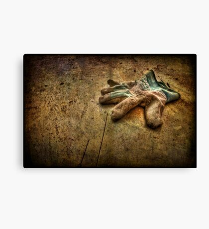 If the Glove Doesn't Fit............... Canvas Print