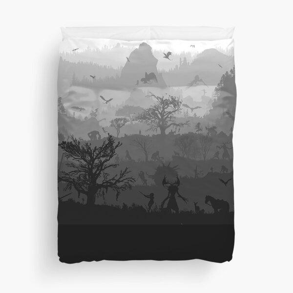 WITCHERSCAPE (9 Layers) Duvet Cover