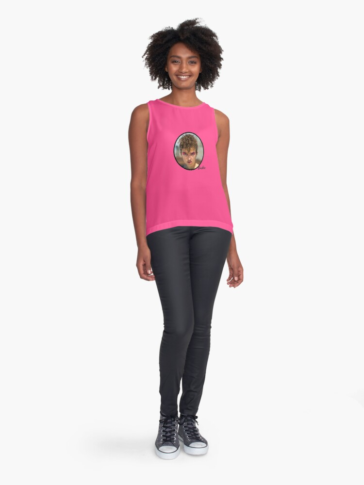 Alternate view of Duckie classic pin-up in pink Sleeveless Top