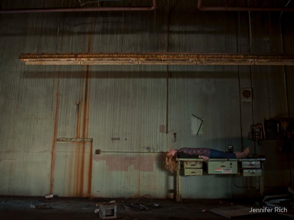 playing dead. by Jennifer Rich