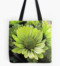 Green Daisy Tote Bag