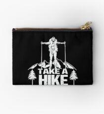 Go Hiking Zipper Pouch
