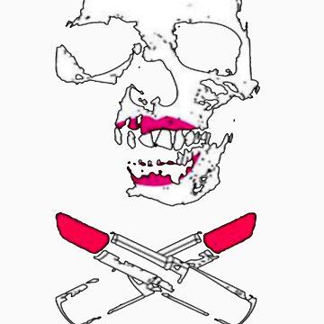 Lipstick skull by Monroe-Misfit