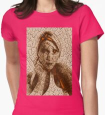 Drought Womens Fitted T-Shirt