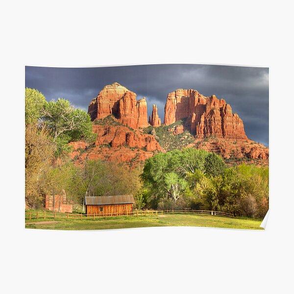Cathedral Rock, Sedona, AZ HDR Poster