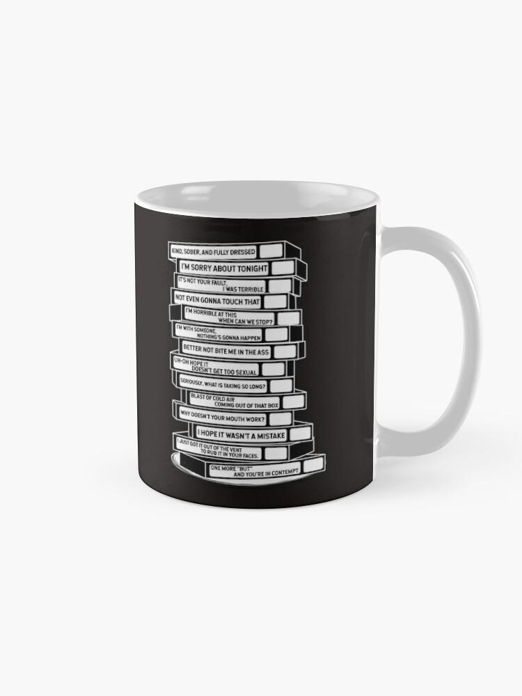 Alternate view of B'99 Sex Tapes Mug