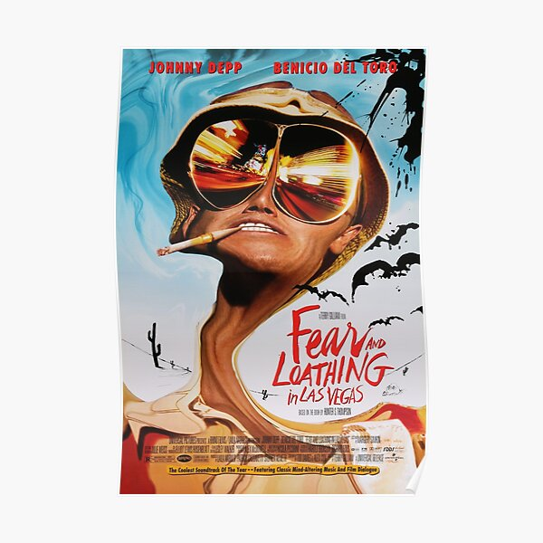 Fear and Loathing in Las Vegas Poster Poster