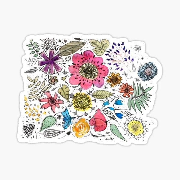 Streublumen Sticker