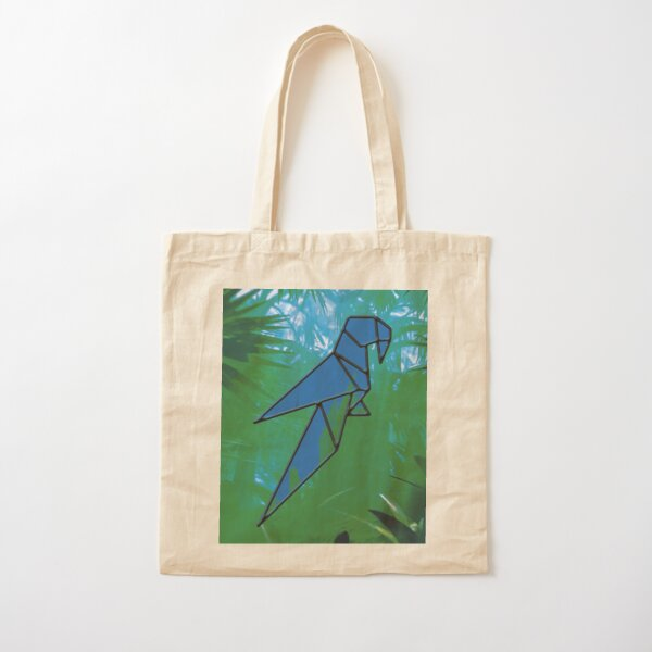 Parrot Cotton Tote Bag