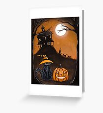 The Halloween Watcher Greeting Card