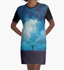 Transcendent Graphic T-Shirt Dress