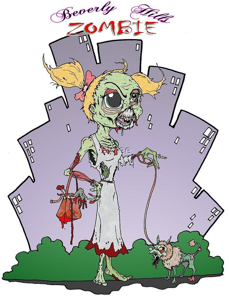 Beverly Hills Zombie by Skree