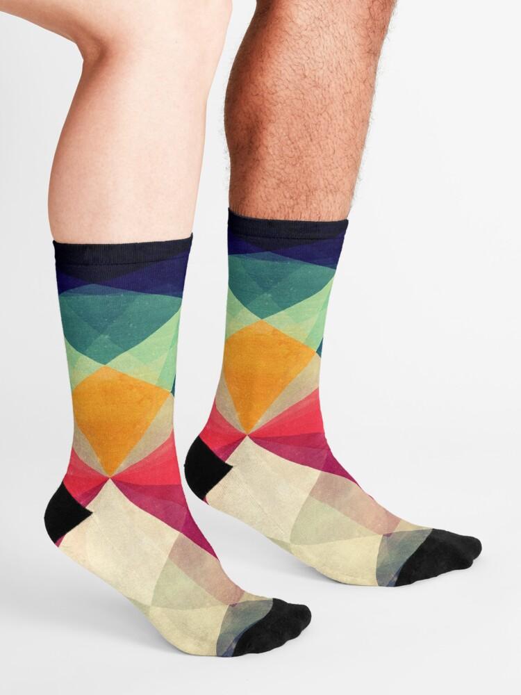 Alternate view of Meet me halfway Socks
