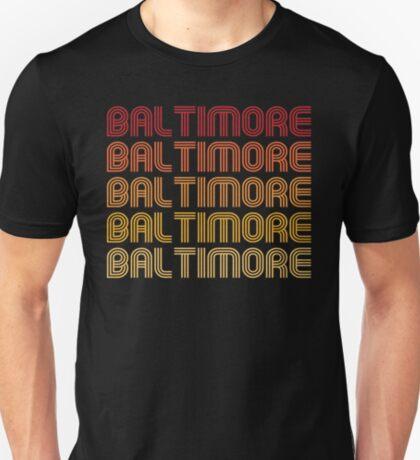 Retro Baltimore  T-Shirt