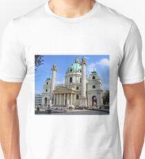 Karlskirche in Vienna Unisex T-Shirt