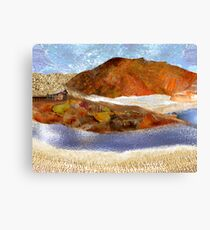 """Big Rock Candy Mountain"" Canvas Print"