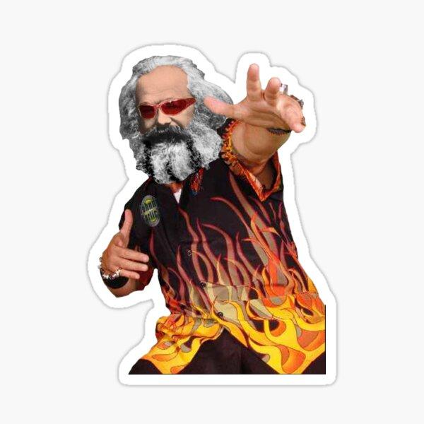 Marx Fieri Sticker