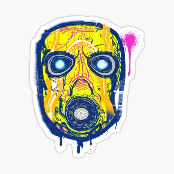 Borderlands Psycho Mask Sticker