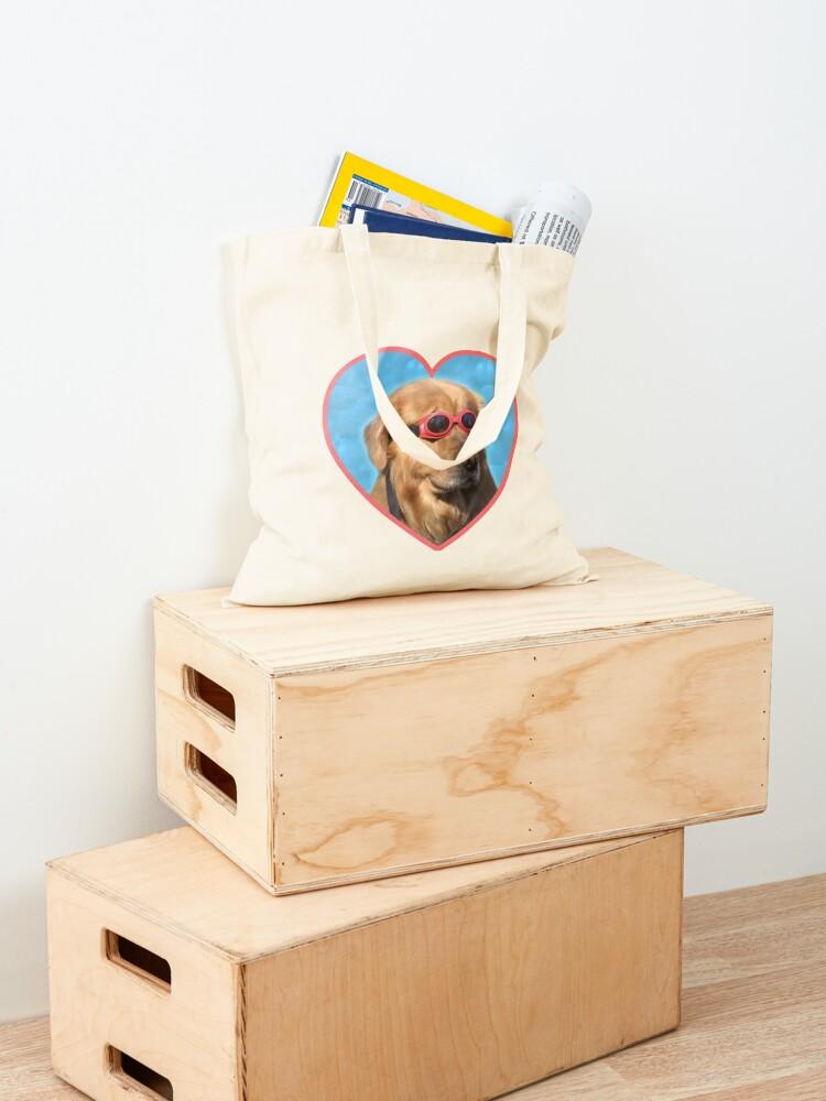 Alternate view of Doggo Stickers: Swimmer Dog Tote Bag