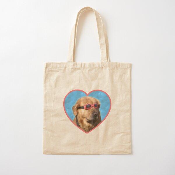 Autocollants Doggo: chien nageur Tote bag classique